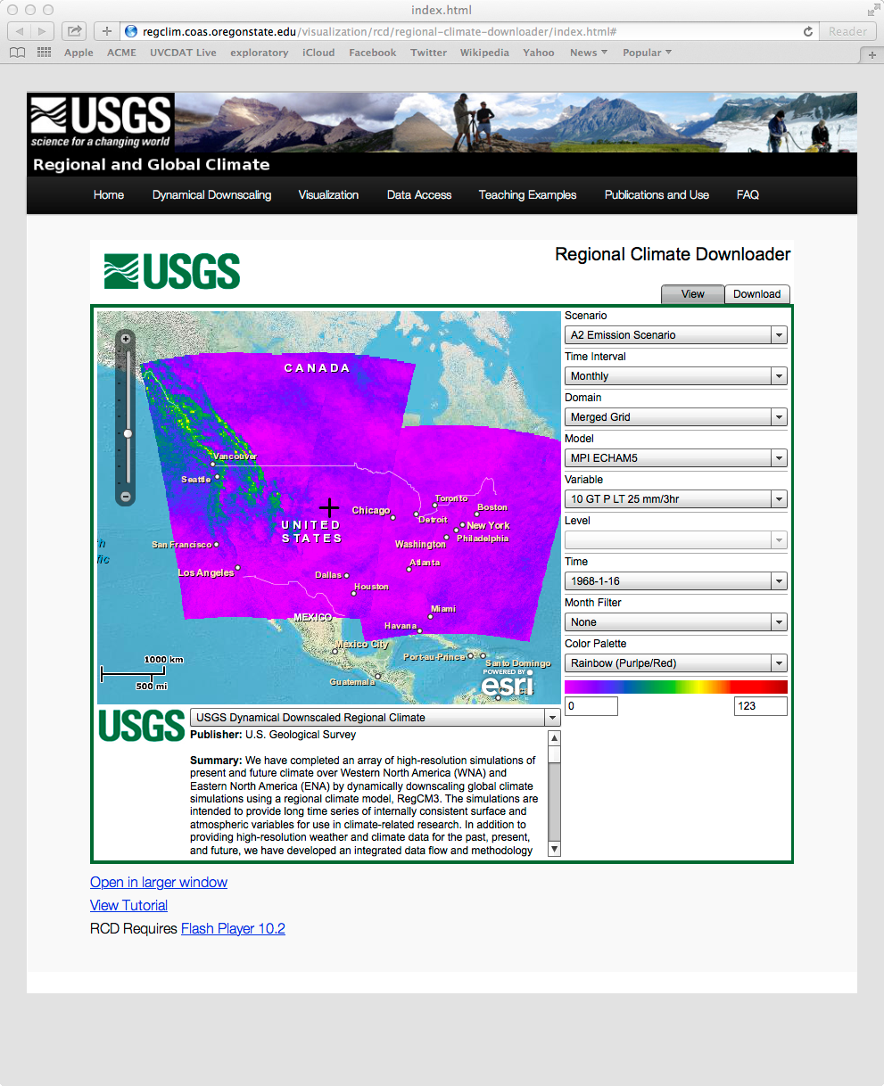 USGS Page
