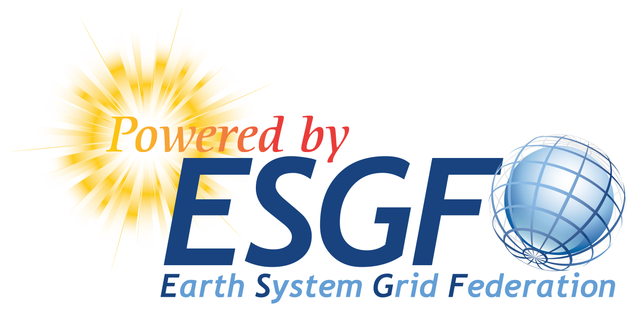 Figure 2: Powered by ESGF Logo 1
