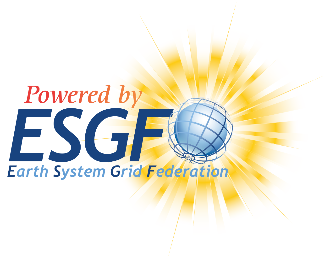Figure 2: Powered by ESGF Logo 2
